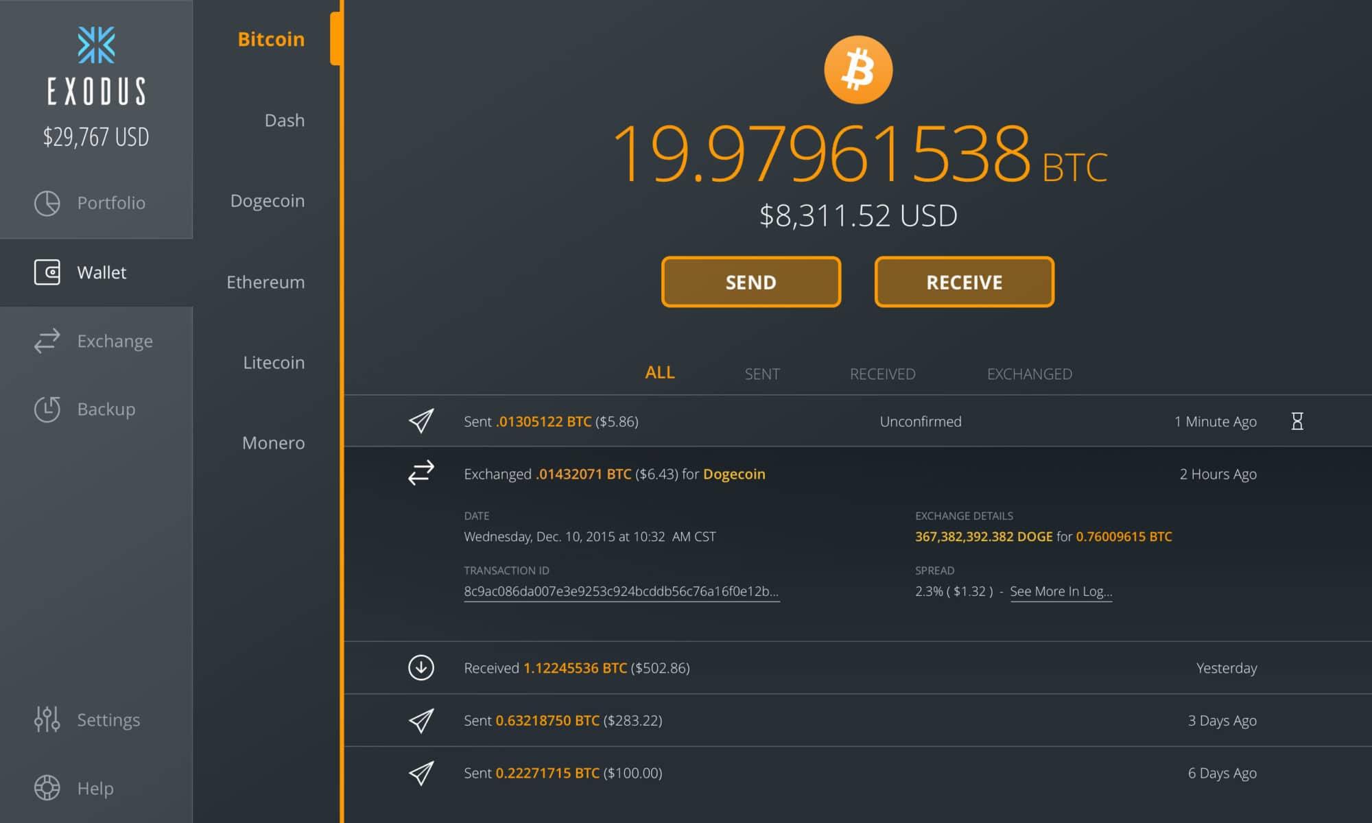geriausi bitcoin wallet uk)